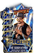 SuperCard TheGodfather S5 27 SummerSlam19 HallOfFame