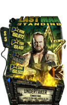 SuperCard Undertaker S5 27 SummerSlam19 LMS