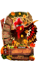 SuperCard GobbledyGooker S6 28 Nightmare