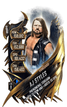 SuperCard AJStyles S6 30 Vanguard