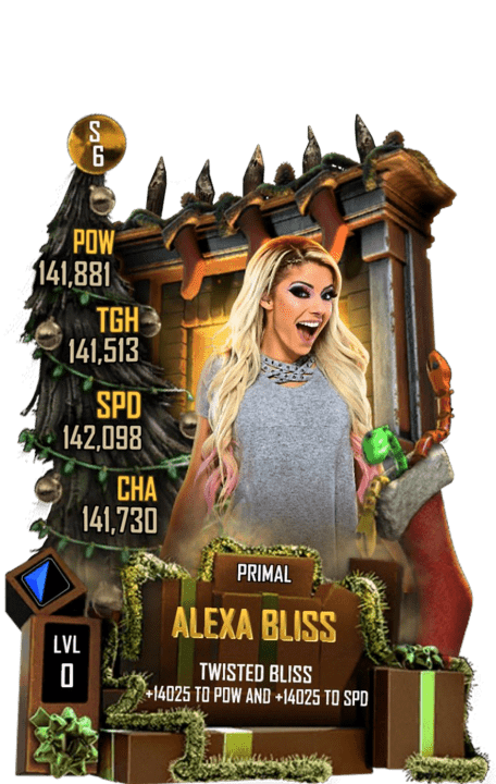 SuperCard AlexaBliss S6 29 Primal Christmas