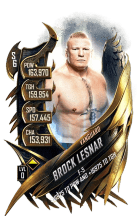 SuperCard BrockLesnar S6 30 Vanguard