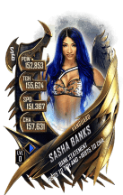 SuperCard SashaBanks S6 30 Vanguard