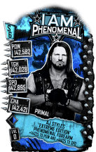 SuperCard AJStyles S6 29 Primal Extreme