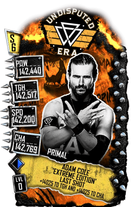 SuperCard AdamCole S6 29 Primal Extreme