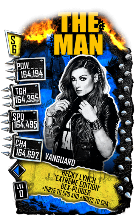 SuperCard BeckyLynch S6 30 Vanguard Extreme