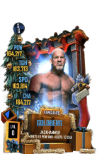 SuperCard Goldberg S6 30 Vanguard Christmas