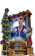 SuperCard RoddyPiper S6 30 Vanguard Christmas
