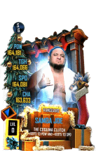 SuperCard SamoaJoe S6 30 Vanguard Christmas
