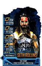 SuperCard SethRollins S5 25 WrestleMania35 FanAxxess