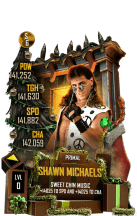 SuperCard ShawnMichaels S6 29 Primal Christmas