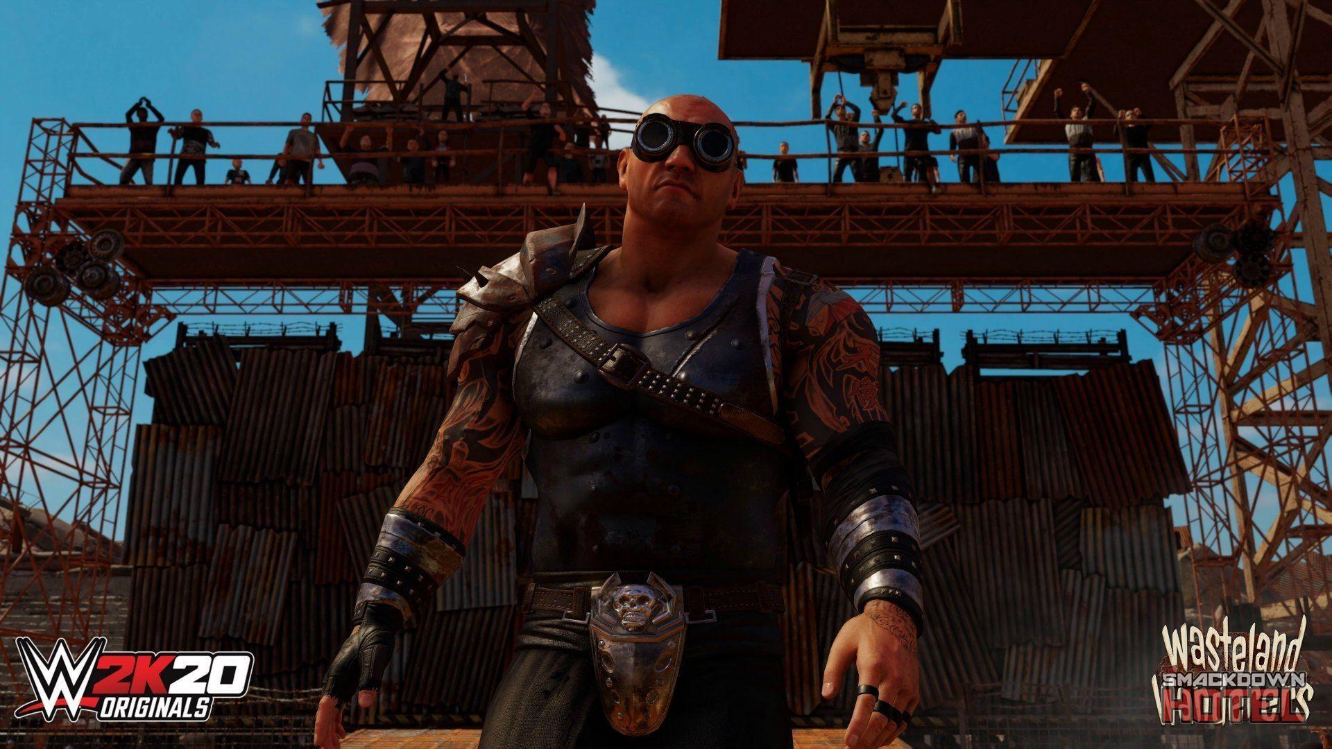 "WWE 2K20 DLC: 2K Originals ""Wasteland Wanderers"" Now Available"
