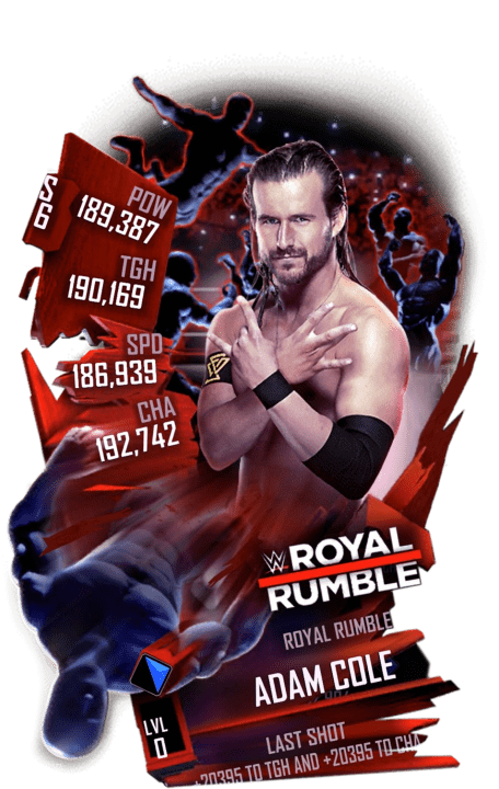 SuperCard AdamCole S6 31 RoyalRumble