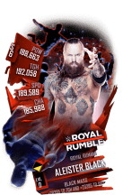 SuperCard AleisterBlack S6 31 RoyalRumble