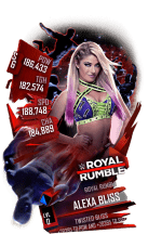 SuperCard AlexaBliss S6 31 RoyalRumble
