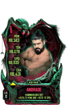 SuperCard Andrade S6 28 Nightmare Fusion