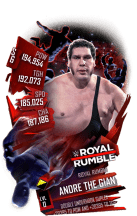 SuperCard AndreTheGiant S6 31 RoyalRumble