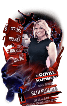 SuperCard BethPhoenix S6 31 RoyalRumble