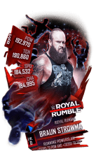 SuperCard BraunStrowman S6 31 RoyalRumble