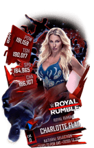 SuperCard CharlotteFlair S6 31 RoyalRumble
