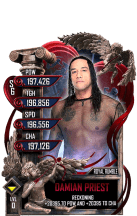 SuperCard DamianPriest S6 31 RoyalRumble Valentine