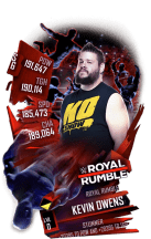 SuperCard KevinOwens S6 31 RoyalRumble