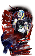 SuperCard ReyMysterio S6 31 RoyalRumble