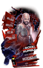 SuperCard Ricochet S6 31 RoyalRumble