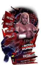 SuperCard Rikishi S6 31 RoyalRumble