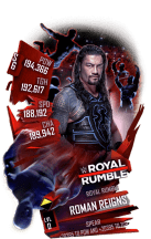 SuperCard RomanReigns S6 31 RoyalRumble