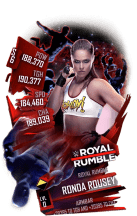 SuperCard RondaRousey S6 31 RoyalRumble