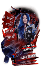 SuperCard SashaBanks S6 31 RoyalRumble