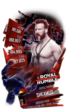 SuperCard Sheamus S6 31 RoyalRumble