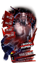 SuperCard TitusONeil S6 31 RoyalRumble