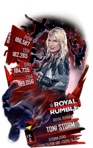 SuperCard ToniStorm S6 31 RoyalRumble