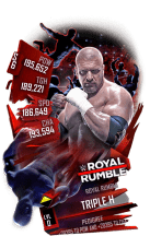 SuperCard TripleH S6 31 RoyalRumble