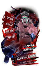 SuperCard UltimateWarrior S6 31 RoyalRumble