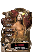 SuperCard AJStyles S6 30 Vanguard Valentine