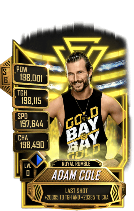 SuperCard AdamCole S6 31 RoyalRumble Event