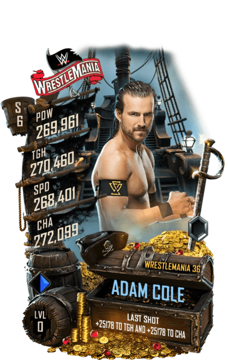 SuperCard AdamCole S6 32 WrestleMania36