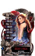 SuperCard BeckyLynch S6 31 RoyalRumble Valentine