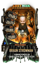 SuperCard BraunStrowman S6 31 RoyalRumble LMS