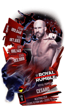 SuperCard Cesaro S6 31 RoyalRumble