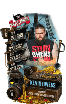 SuperCard KevinOwens S6 32 WrestleMania36