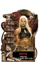 SuperCard Maryse S6 30 Vanguard Valentine