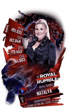 SuperCard Natalya S6 31 RoyalRumble
