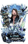 SuperCard AJStyles S6 33 Elemental