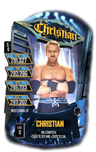 SuperCard Christian S6 32 WrestleMania36 Event