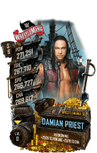 SuperCard DamianPriest S6 32 WrestleMania36