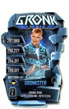 SuperCard Gronk S6 32 WrestleMania36 Event